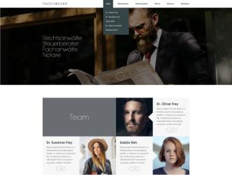 Bild Webseiten-Erstellung für Anwälte