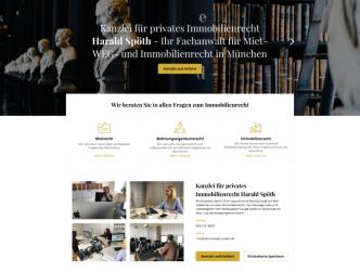 Bild Rechtsanwalt Homepage - Harald Spöth