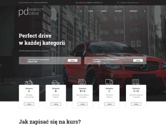 Bild Fahrschul-Homepage für Perfect Drive